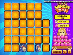 iCarly Memory Blast game