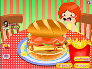 Deluxe Hamburgers game
