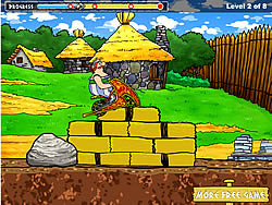 Asterix and Obelix Bike Game game
