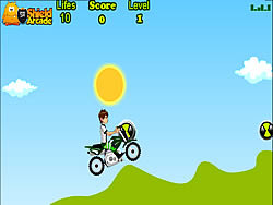 Ben 10 Bike Trip game
