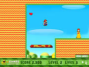 Play Mario meets peach Game