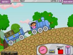 Dora Train Express game