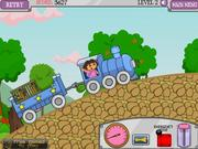 Juega al juego gratis Dora Train Express