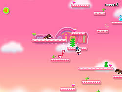 Cat Girl Cloud Walking game