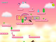 Play Cat girl cloud walking Game