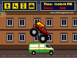 gra Monster Truck Curfew