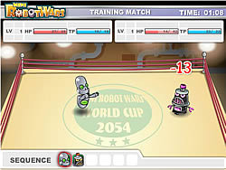 Mini Robot Wars game