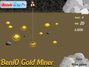 Play Ben10 gold miner Game