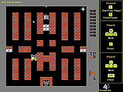 Battle City Tank game