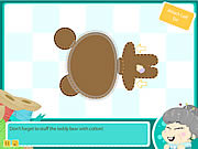 Play free game Grannys Workshop Teddy Bear