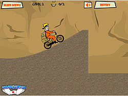 Permainan Naruto Bike