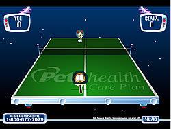 Garfield's Ping Pong παιχνίδι