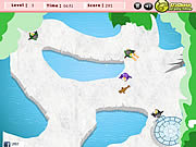 Play Penguin skating 2 Game