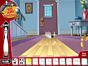 Tom and Jerry Bowling game