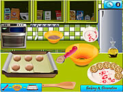 Play Peanut butter cookies Game