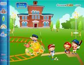 Chơi trò chơi miễn phí Spring School Decoration