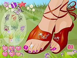 Summer Sandals game
