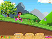 Play Dora uphill ride Game