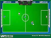 Play Vr world cup soccer tournament Game