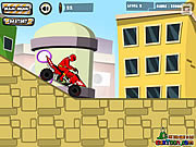 Power Rangers Dino Red ATV game
