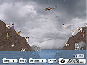 Irene Hurricane Mission Rescue game