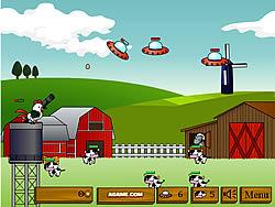 Bazooka Chicken game
