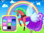 Play Unicorn dress up Game