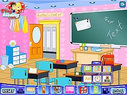 Gioca gratuitamente a Decor My First Classroom