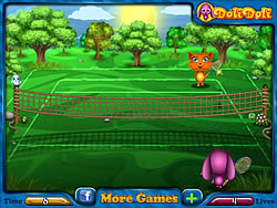 Toto and Sisi Play Tennis game