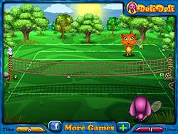 Permainan Toto and Sisi Play Tennis