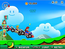 New Super Mario Racing game
