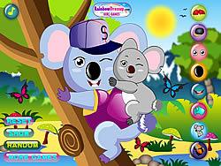 Gioca gratuitamente a Cool Koala Dress Up