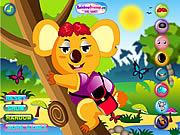 Play Cool koala dress up Game