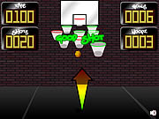 Crazy Hoops game