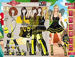 Bumble Bee Girl game