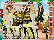 Play Bumble bee girl Game
