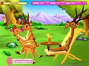 juego Deer Kissing