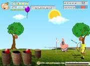 Play Spongebob super archer Game