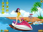 Jucați jocuri gratuite Fun ride beach girl