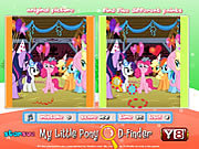 My Little Pony D-Finder game