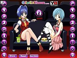 Girls Movie Night game