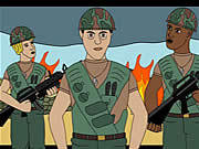 Watch free cartoon John Kerry in Vietnam