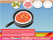 Delicious pizza cooking Gioco
