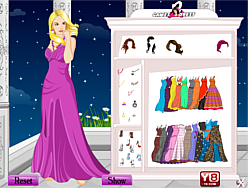 Gown Girl Dress Up game