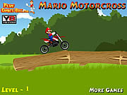 Play Mario motorcross Game