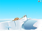 Play Ice slide Game