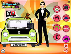 Mr. Bean Dress Up game