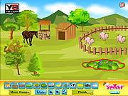 Play Smiley deco farm field Game