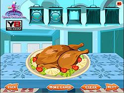 Turkey Roast Decoration game