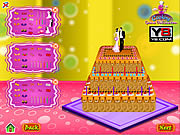 Play Wedding cake decoration game Game